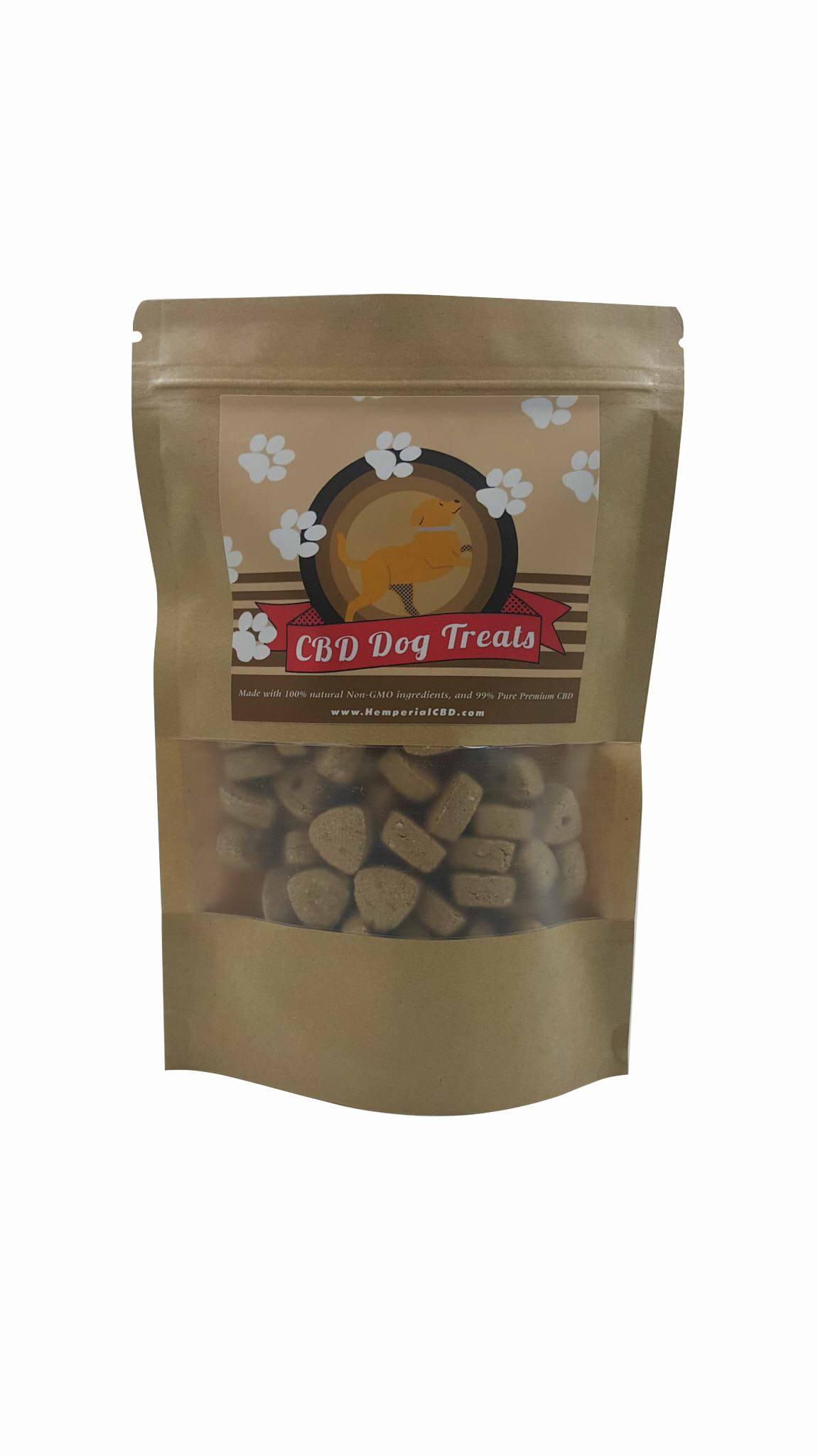 100% Natural Crunchy CBD Dog Treat Bites (Apple)