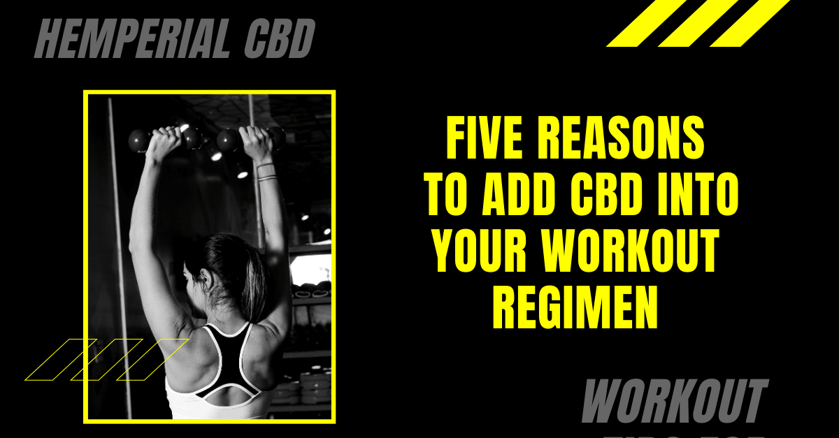 Five Reasons to Add CBD Into Your Workout Regimen
